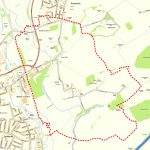 Map of Cossall village boundary