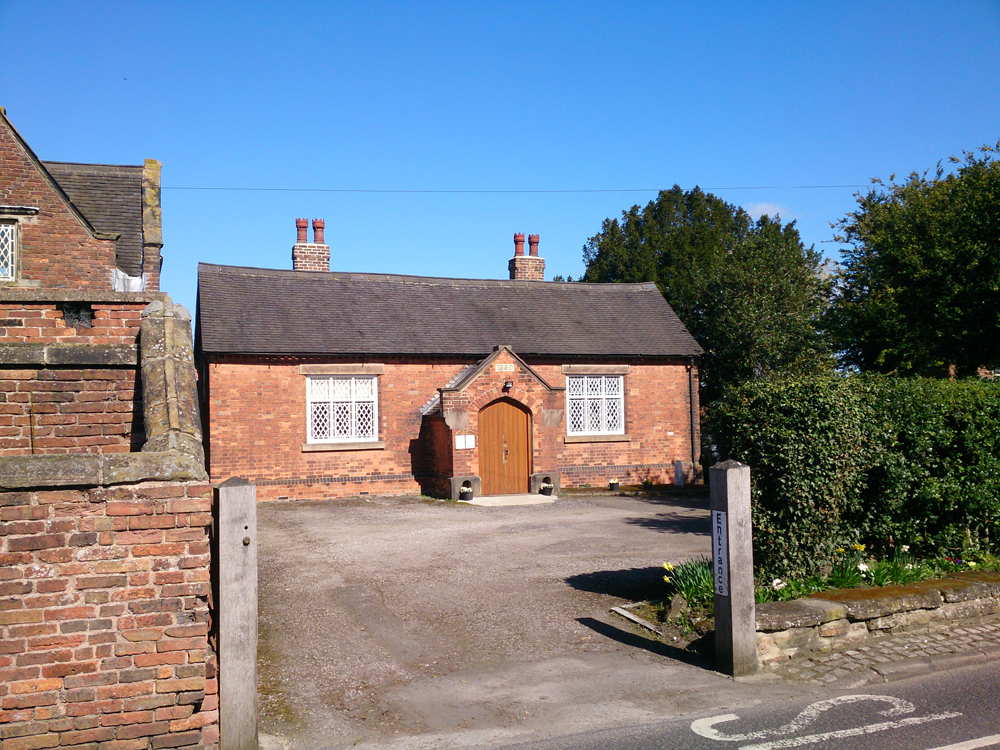 Photo of Old School Room hall building exterior in Cossall