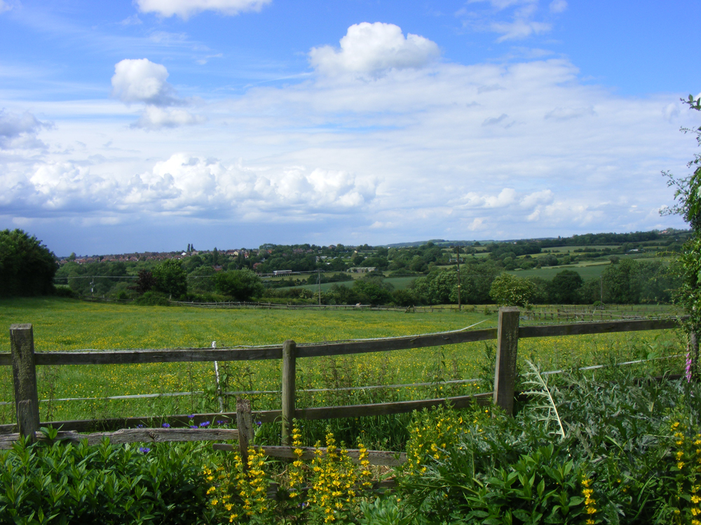 Photo of a view of Cossall Parish countryside