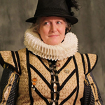 Photo of Maureen Taylor dressed as Bess of Hardwick