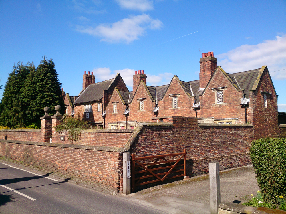 Photo of Willoughby Almshouses, Cossall