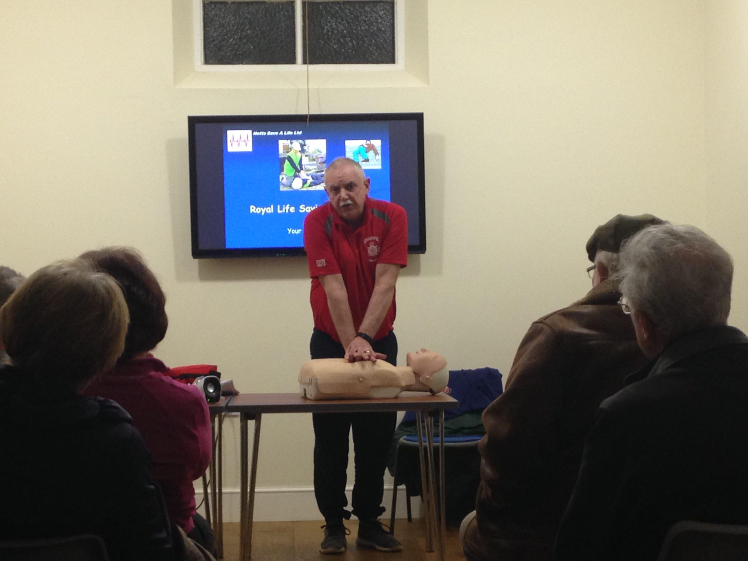 Defibrillator CPR Event2
