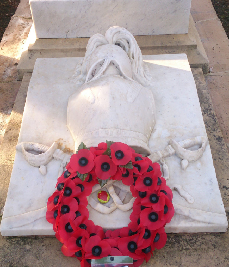 image of poppy wreath remembrance day 2020